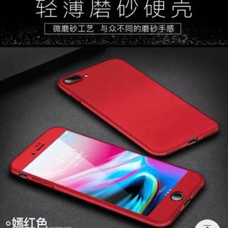 100% new Red Iphone 7/8 case