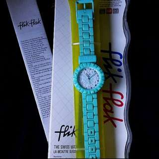 Swatch (flik-flak) kids edition 100% asli