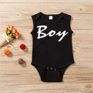 🐰Instock - boy romper, unisex baby infant toddler girl boy children sweet kid happy abcdefg