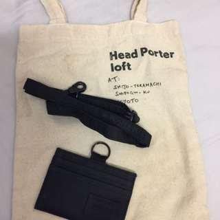 Porter 證件套+掛頸繩一套連袋 八達通套 卡套