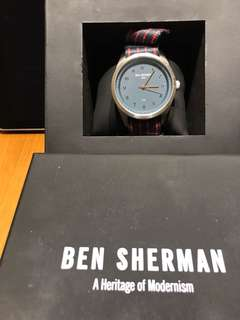 Ben Sherman Men Fabric Watch WB010U