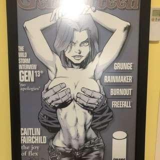 Gen-et Jackson cover Poster by Jason Pearson