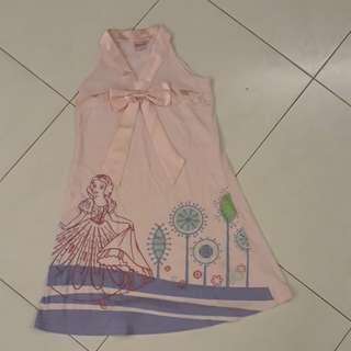 Kids disney dress ( size 8 )