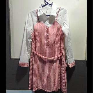 Korean-inspired dress