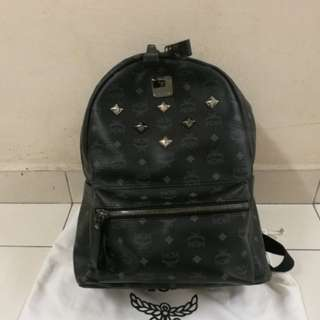 MCM Backpack visetos black