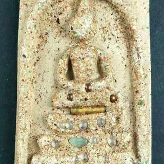 阿贊多……崇笛佛後面為泰國三世皇【保證真品】