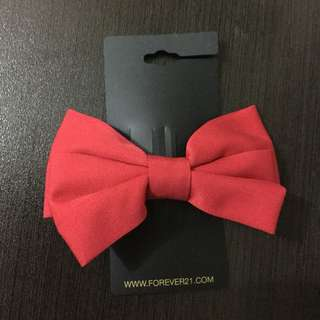 Forever 21 Red Bow