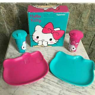 tuperware hello kitty set