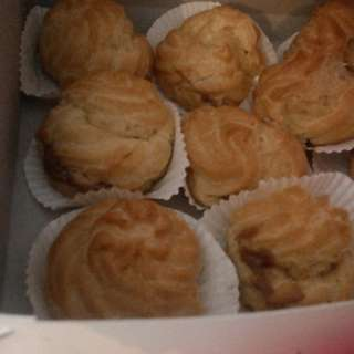 Soes vla durian asli ,soes coklat