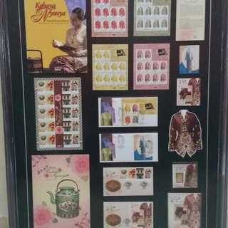 Stamps setem Baba Nyonya 2 series