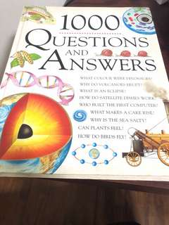 1000 Questions & Answers Book