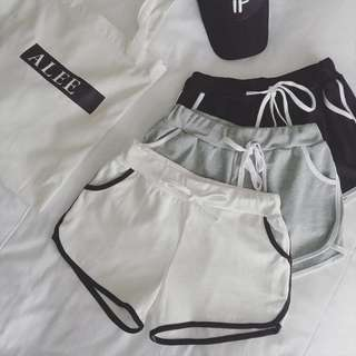 [PO] Women Casual Stretchy Elastic Runner Shorts