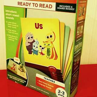 Leapfrog  Ready to Read Tag Short Vowels for 2 to 3 yrs old