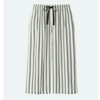 Uniqlo Kulot Stripe Gray