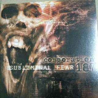 Music CD (Metal): Corporation 187–Subliminal Fear - Death Metal