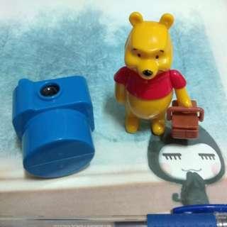 迪士尼 小熊維尼 公仔 玩具 組