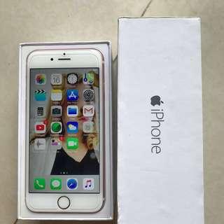 iphone6s 64gb rosegold