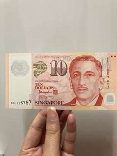 Doubles $10 note