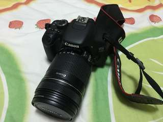 CANON Eos 600D with EF18-135mm lens comes with steinzeiser filter