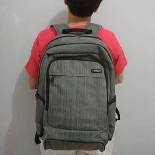 Tas Ransel Bodypack ORI warna Abu
