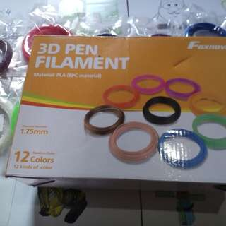 3d pen filament