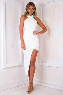 Tahnee Evening Dress- White