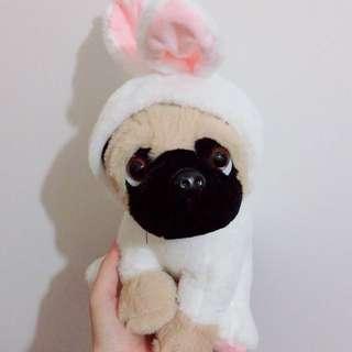 全新 巴哥犬 巴哥狗 變裝偽裝系列娃娃 兔子🐰