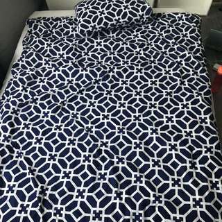 Twin/Double/Full Bed Duvet Set