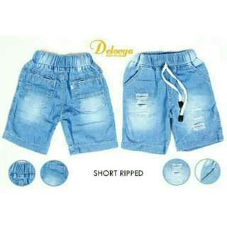 Jeans pendek anak