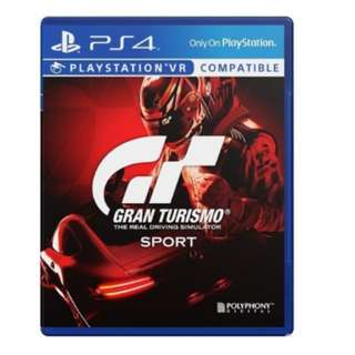 PS4 GT Sports