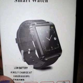 Smart watch red color only sale