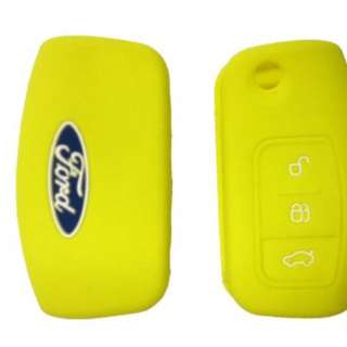 Ford Fiesta Silicone key Car casing cover