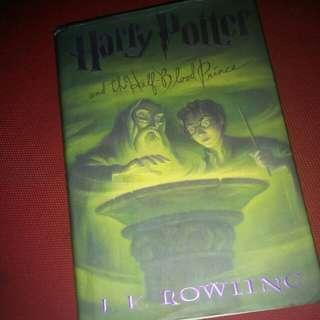 Harry Potter book HB
