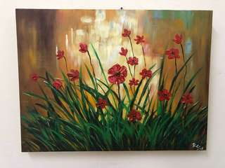 Canvas oil painting 1