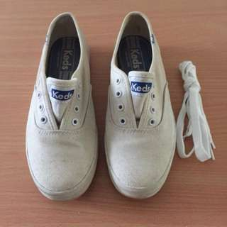 Keds Sneakers White Classic Canvas