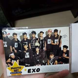 EXO photo set