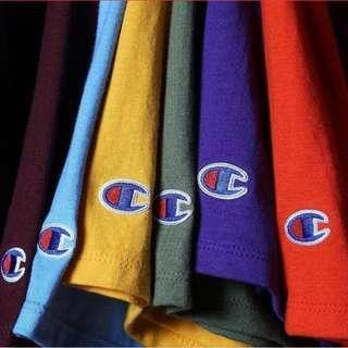 LAST CALL! Champion Classic Jersey Tee Shirt