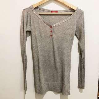 Graphis Grey Long Shirt