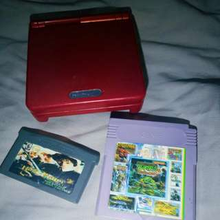 GAMEBOY SP 001 (RED)