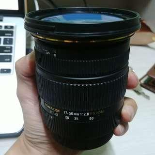 Sigma 17-50mm f2.8 EX HSM(canon)