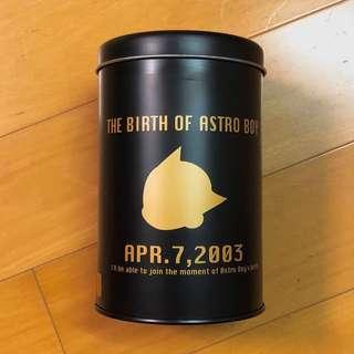 ASTRO BOY 小飛俠 阿童木 手塚治虫 誕生日記念 圓鐵罐 畫筆筒