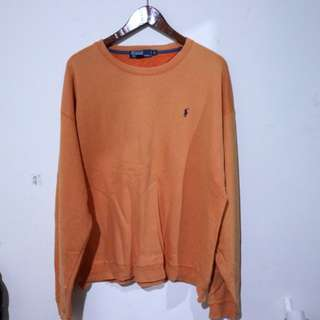 Sweater orange polo