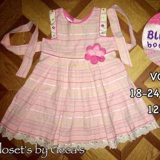 Blue Berry Baby Girl Dress