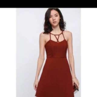 BN Love Bonito Dress orange