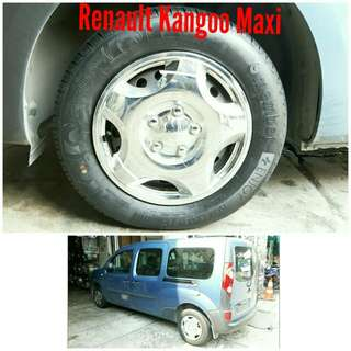 Tyre 195/65 R15 Membat on Renault Kangoo 🙋♂️ Price for reference only