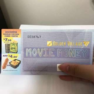 GV Movie Voucher