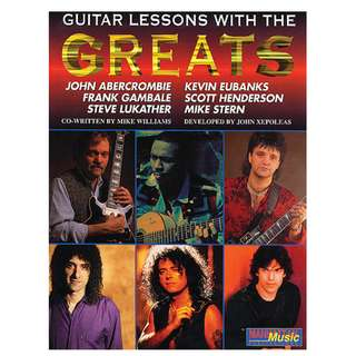 Guitar Lessons With the Greats (106 Page Mega eBook)
