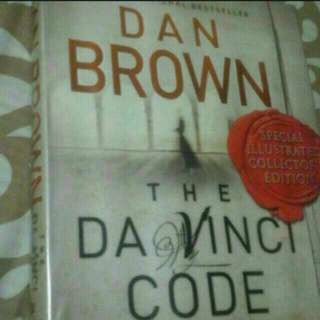 The Da Vinci Code Hardcover Big Book  Pick Up hougang Buangkok Mrt
