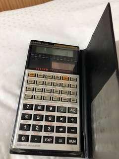 Casio fx 50F Calculator Math Econ Account 計算機 計數機 數學 經濟 會計
