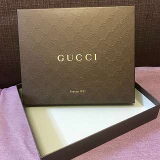 Gucci original box 原裝盒